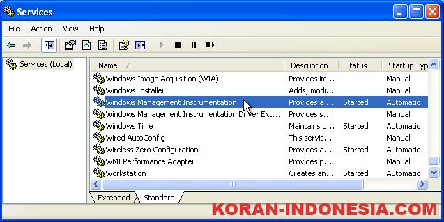 Mengenal Windows Management Instrumentation (WMI)
