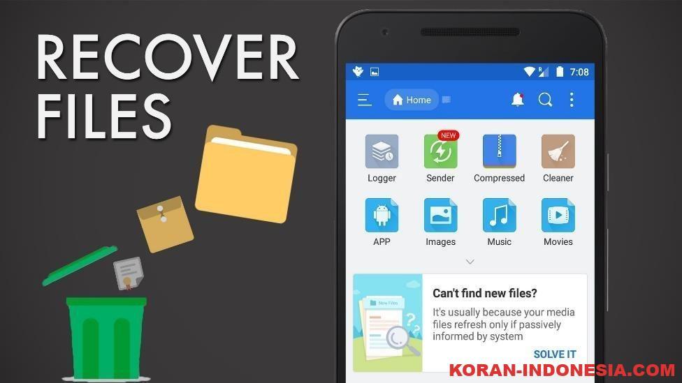 Cara Mengunduh File Lama Yang Terhapus Pada Android