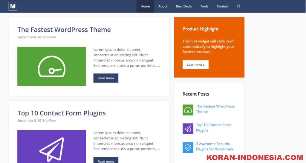 Jasa Install Theme Generatepress Premium Murah Meriah